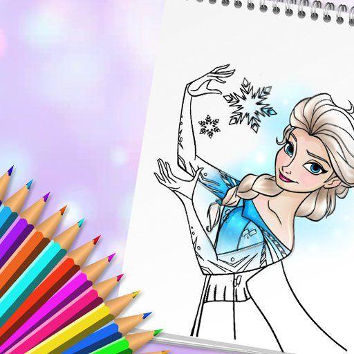 Elsa Boyama Oyunu