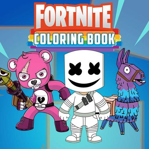 Fortnite Karakterleri Boyama Oyunu