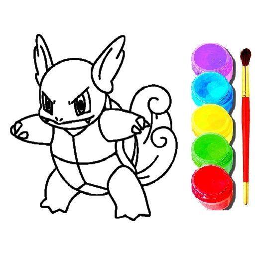 Pokemon Boyama Oyunu